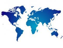 世界地圖矢量圖下載