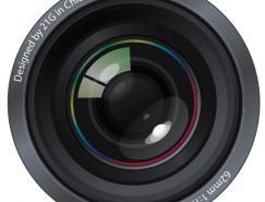 照相機鏡頭矢量素材