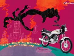 PG摩托车广告欣赏