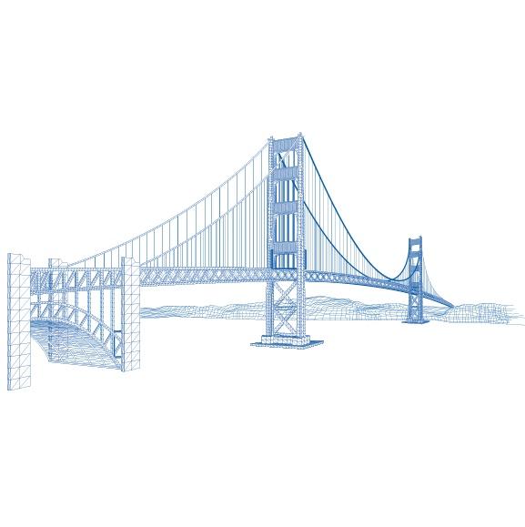线描,埃菲尔铁塔; 巴黎铁塔112;