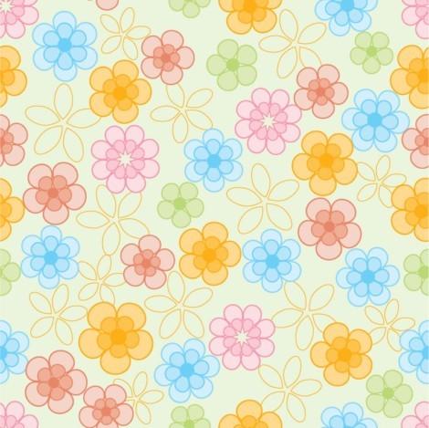 关键字: 矢量花纹,背景,可爱,花纹,时尚花纹,花朵,时尚背景,实用背景