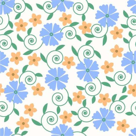 背景,花纹,花朵,可爱,时尚花纹,圆形,时尚背景,实用背景花纹,矢量素材