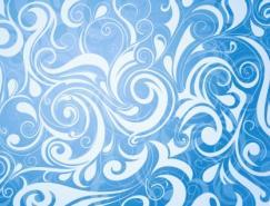 实用花纹底纹背景矢量素材(51)