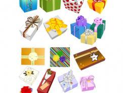 各种礼盒包装矢量素材