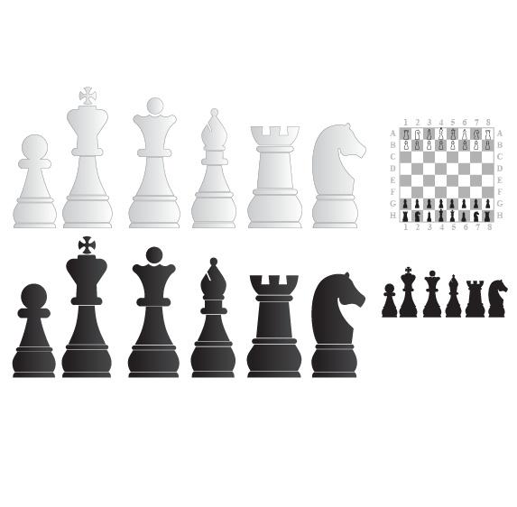 关键字:国际象棋矢量素材图片