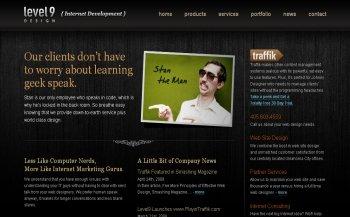 25个黑色系网站设计欣赏之二