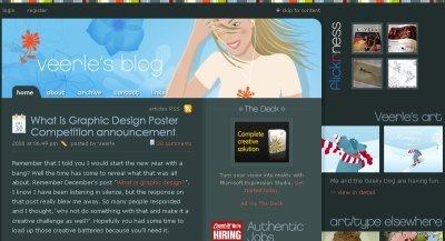 Veerle's Blog screen shot