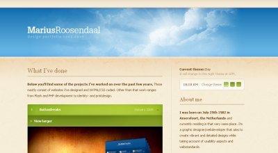 Marius Roosendaal screen shot