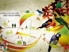 Ypiranga涂料平面广告欣赏