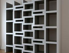 REK可伸缩的书架设计