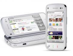 诺基亚N97(NokiaN97)手机皇冠新2网欣赏