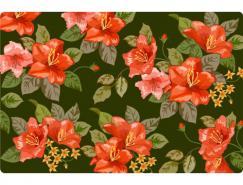 花朵底纹矢量素材