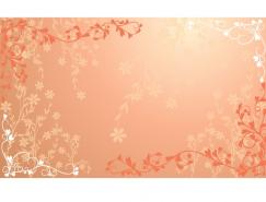浪漫结婚背景矢量素材(09)