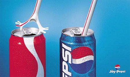 百事可乐 广告图片