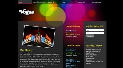 25个梦幻光影效果网站设计欣赏