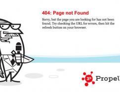 国外创意404错误页面设计欣赏