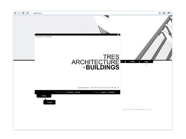 TRES个性网站设计欣赏