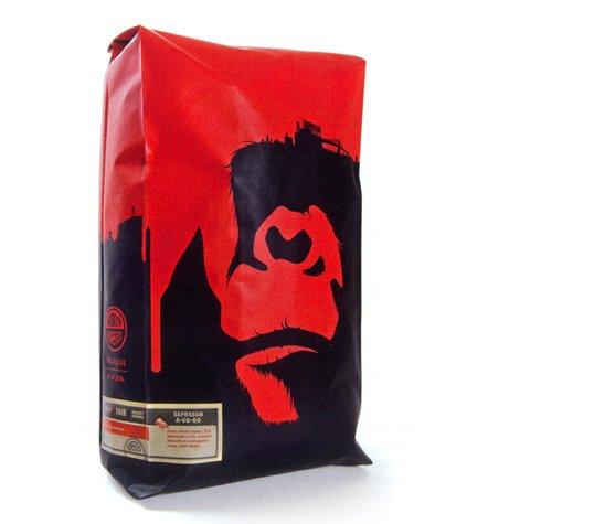 Gorilla Coffee designed by One Trick Pony
