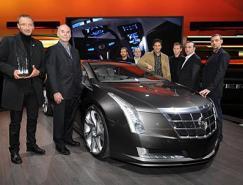 凱迪拉克Converj概念車榮獲北美國際車展最佳設計大獎