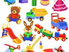 儿童玩具矢量素材