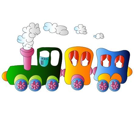 可爱的儿童玩具矢量素材
