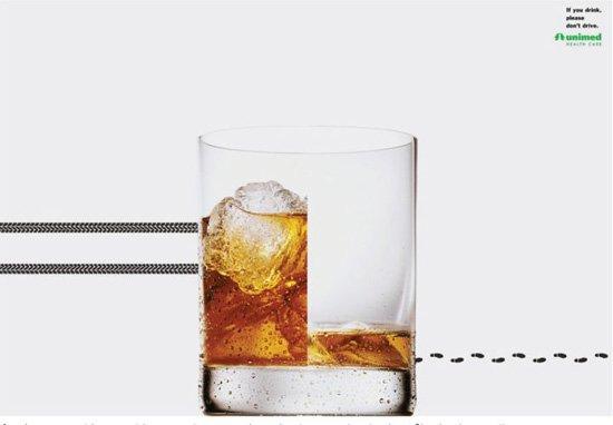 请不要酒后驾车:Unimed-Rio公益广告欣赏