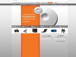 SonyStyle网站界面设计