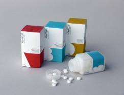 Vitamin維生素片包裝設計欣賞