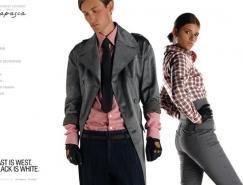 服装品牌capasca网站欣赏