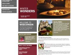 Wisconsin旅游网站欣赏