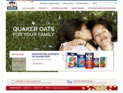 QuakerOats(桂格燕麥片)網站欣賞