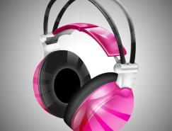 Photoshop制作一款时尚的耳机