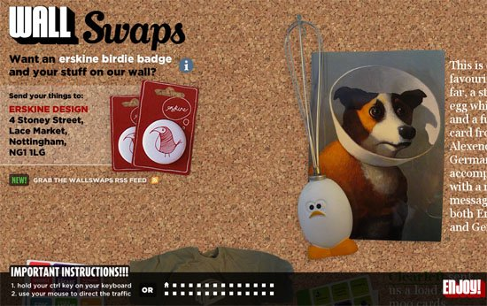 WallSwaps - screen shot.