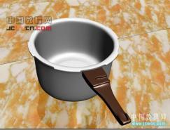 3dsMAX制作一個逼真的高壓鍋
