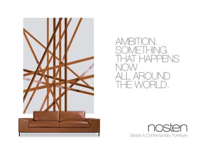 nosten家具平面广告 - 设计之家