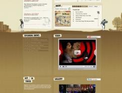 国外35个音乐产业相关网站设计欣赏