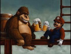 任天堂(Nintendo)经典游戏CG艺术欣赏