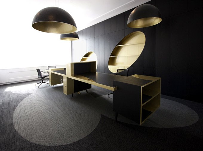 国外现代办公室设计欣赏(2)