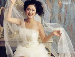 Photoshop复杂背景抠婚纱教程