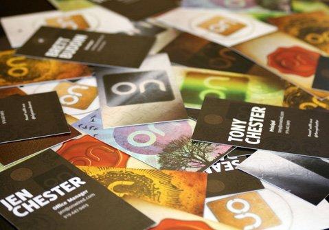 26款国外设计师的名片设计