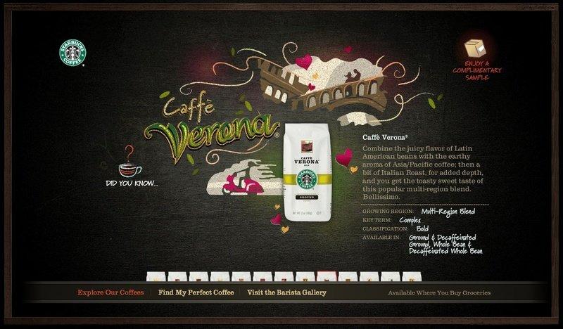 星巴克咖啡品牌平面设计集锦