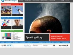 酷站欣赏:actionimages图片网站