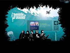 酷站欣赏:peopleinplanes乐团网站