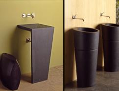 国外超创意的卫浴洗手盆设计