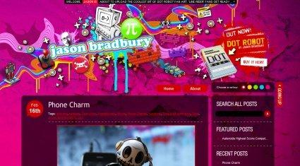 25个漂亮的色彩丰富的网站设计欣赏之四