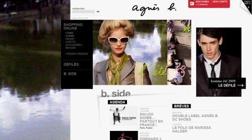 国外大牌服装和时尚品牌网站欣赏(3) - 设计之家
