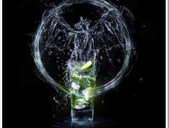 国外饮料和酒品牌平面及网页设计