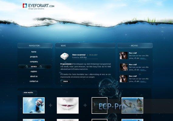 Eye For Art-web-design-inspiration