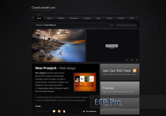 Creative Staff-website-design-inspiration