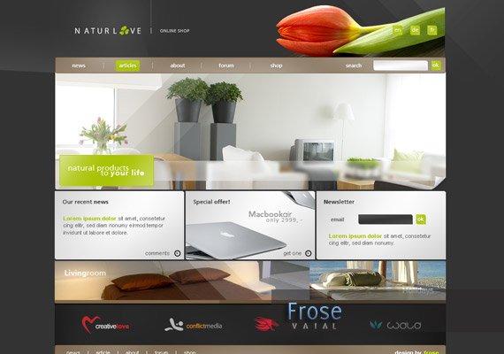 40个网页设计师的优秀作品集(4)图片